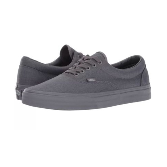 319220e866 Vans Era Classic Sneakers Mono Chambray Gray Shoes